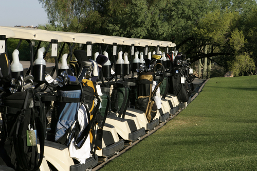 Golf-carts-lined-up