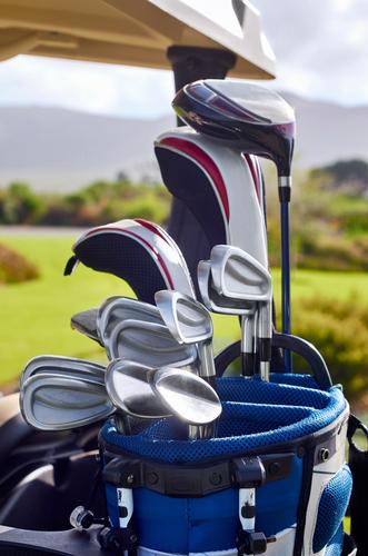 golf club caddy cart