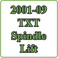 2001-09 EZGO TXT Spindle Lift Kit Installation Video