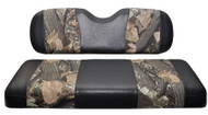 Madjax Club Car DS - Front Seat Cover Set - Camouflage and Black - 2000.5 and Newer
