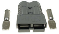 SB350 Charger Plug for EZGO - Gray Housing - 2/0 Gauge