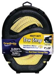 Heavy Duty Tow Strap - 20 feet