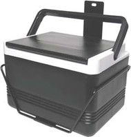 12 Quart Igloo Black Cooler And Brackets for EZGO TXT (1994-up)