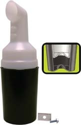 Sand and Seed Bottle with Holder for EZGO TXT -Top Fill (1994-up)