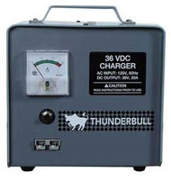 Yamaha - Thunderbull Battery Charger - 36 Volt - Crowfoot Plug