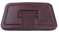 Club Car DS - Seat Back Cap - Brown (1982-99)