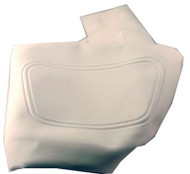 Club Car DS - Seat Back Cover - White (2000-up)