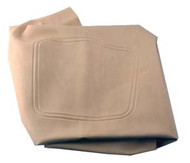 Club Car DS - Seat Bottom Cover - White (2000-up)