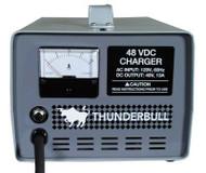 Club Car - Thunderbull Battery Charger - 48 Volt - 220 Volt