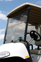 "EZGO Folding 1/4"" Acrylic Windshield - Choose Your Model"