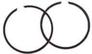 EZGO - Piston Ring Set - Oversized .50mm (1976-94)