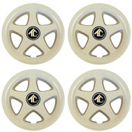 "8"" Star 5 Spoke - Beige Wheel Cover (Set of 4)"