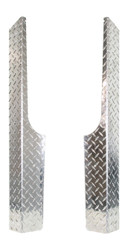 EZGO RXV Diamond Plate Full Rocker Panels 2008-Up