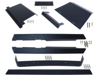EZGO TXT (Black) Diamond Plate Full Accessory Kit 1995-2014