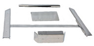 Club Car DS Stainless Steel Accessory Kit w/Full Rocker Panels (1982+)