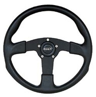 Grant Formula GT Steering Wheel - 3 Spoke Black