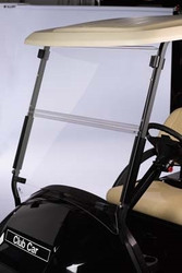 "Club Car  All American™ Folding Acrylic 3/16"" Windshield"
