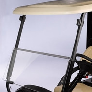 "EZGO All American™ Folding 3/16"" Acrylic Windshield"