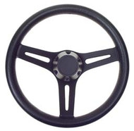 EZGO Daytona Black Steering Wheel - TXT or Medalist