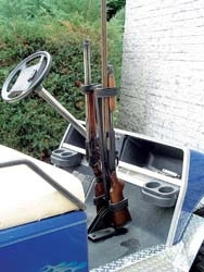 Stand Up Gun Rack