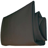 Club Car Black Vinyl Seat Bottom Cover 1979-00.5