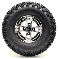 Madjax 10'' Apex Machined/Black Wheel and Predator Tire Lifted Combo