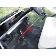 Golf Cart Pedal to Wheel Lock