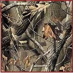 Camouflage Universal Canopy Top Pull Cover - Realtree Harwood
