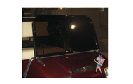 Club Car Sport Windshield - Stainless Steel