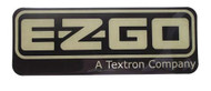 EZGO 2008-Up Gas and Electric RXV Name Plate