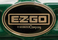 EZGO 1996-Up ST350 Gas factory name plate