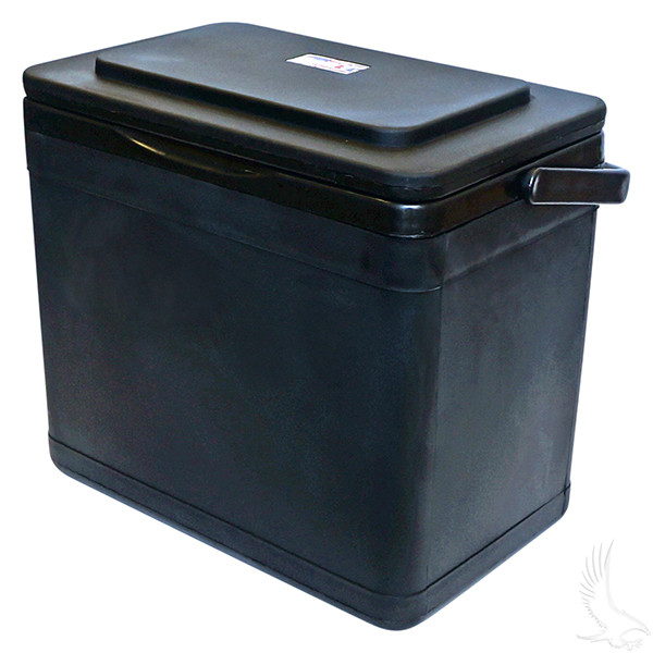 Ezgo Rxv 11 75 Quart Black Cooler With Bracket Golf Cart