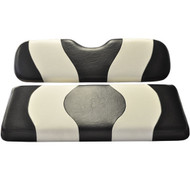 Madjax Two-Tone Front Seat Covers - Black/White