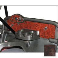 EZGO RXV Custom Dash Regal Burl