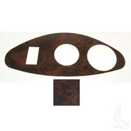 EZGO RXV Custom Dash Insert (Wood Grain- Freedom)