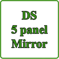 1982-99 Club Car DS 5 Panel Mirror Installation Video