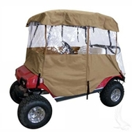 Universal Deluxe 4-Sided Golf Cart Enclosure