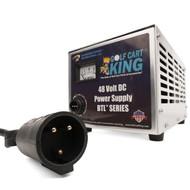 Club Car DPI Charger - 48V 15A Powerdrive/IQ - 3 Pin Round Handle