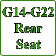 Yamaha G14, G16, G19, G22 Rear Seat Installation Video