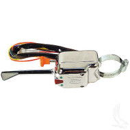 Universal Chrome Turn Signal Switch