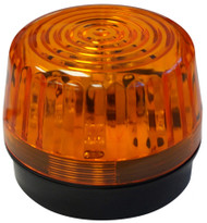 Universal Golf Cart Strobe Light - Amber - EZGO, Club Car, Yamaha