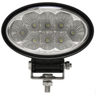 "Universal Golf Cart LED Utility 5.75"" Oval Spotlight - 1800 Lumen - EZGO, Club Car, Yamaha"