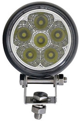 "Universal Golf Cart LED Utility 4.5"" Spotlight - 2025 Lumen - EZGO, Club Car, Yamaha"