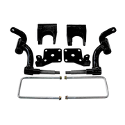 Ezgo rxv lift kits for golf carts diygolfcart rhox ezgo rxv drop spindle lift kit electric sciox Images