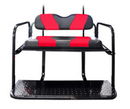 MadJax Two-Tone Black/Red Rear Flip Seat Kit