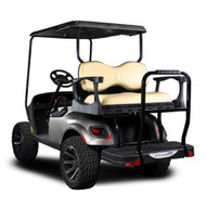 Madjax Genesis 250 EZGO Rear Flip Seat - Steel Frame - Choose Your Cart Model, Cushion, and Color