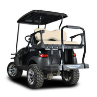 Madjax Genesis 300 Club Car Rear Flip Seat - Aluminum Frame - Choose Your Cart Model, Cushion, and Color