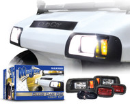 MadJax Club Car DS Headlight and Tail Light Kit 1993-Up