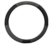 Madjax Black and Grey Golf Cart Steering Wheel Cover
