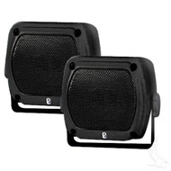 Poly-Planar Waterproof Box Golf Cart Speakers - Universal